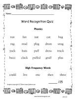 wonders first grade unit two week two words quiz