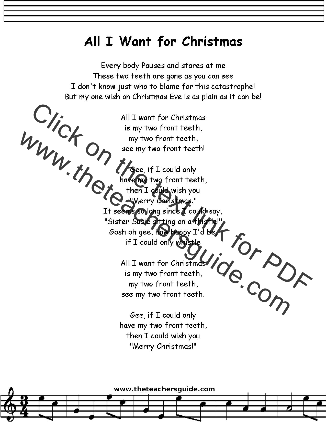 All I Want For Christmas Is You Lyrics   giftsforsubs