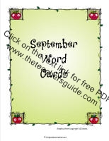 september writing cards