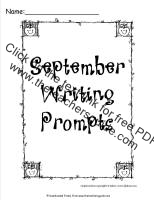 september writing journal