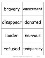 mcgrawhill wonders third grade unit three week two vocabulary cards