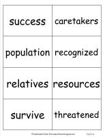 mcgrawhill wonders third grade unit two week four vocabulary cards