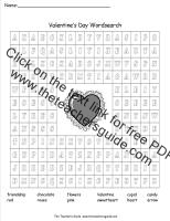 valentines day wordsearch