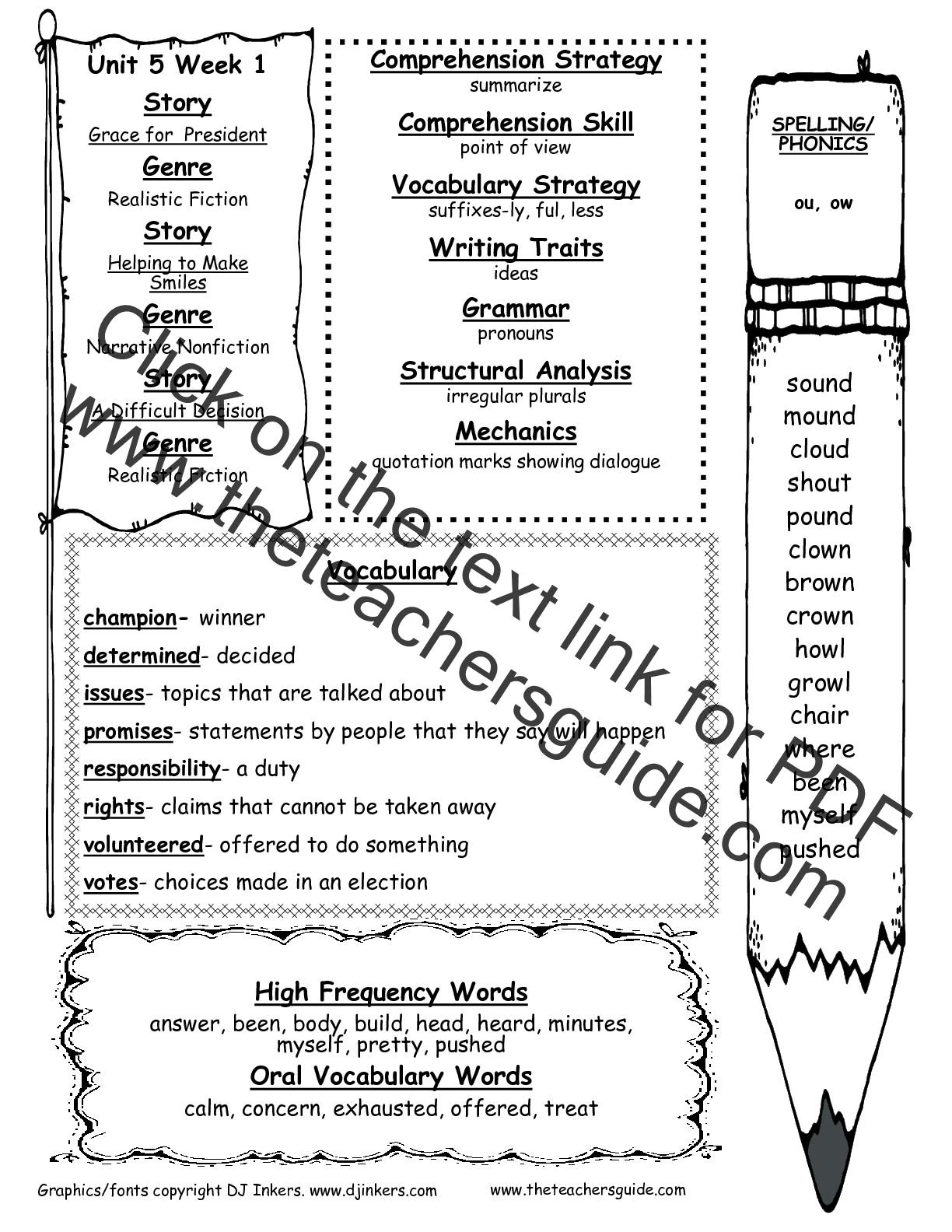 Unit 5 - Week 1 - Mrs  Hazen's Second Grade